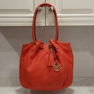 Michael Kors X-Large Ring Leather Tote 😍3X HP😍
